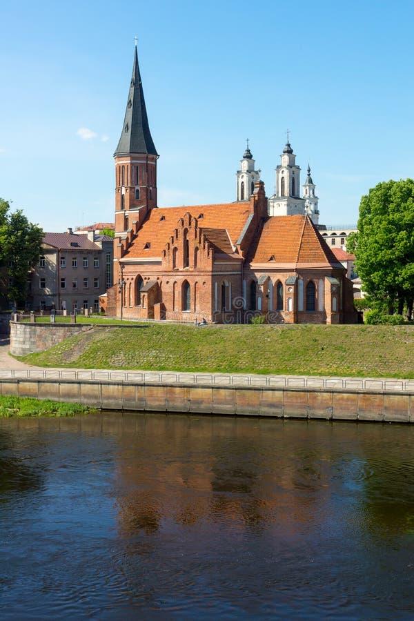 Download Vecchio Paesaggio Di Tempo Di Giorno Della Città Di Kaunas Immagine Stock - Immagine di costruzione, panorama: 56879107