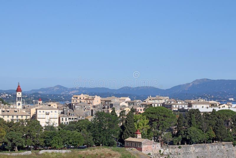 Download Vecchio Paesaggio Urbano Della Città Di Corfù Fotografia Stock - Immagine di storico, greece: 56890502