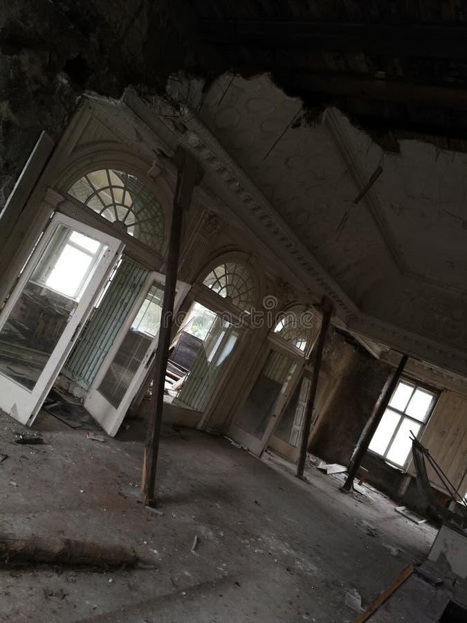 Vecchio palazzo immagini stock
