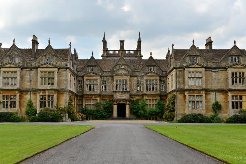 Vecchio palazzo inglese immagini stock libere da diritti