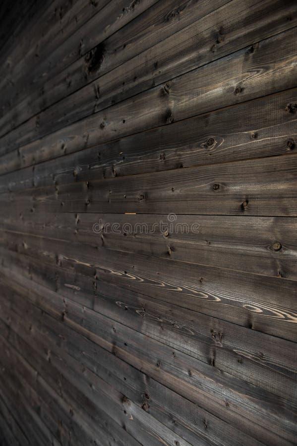 Vecchio, pannelli di legno di lerciume usati come vista laterale del fondo fotografie stock libere da diritti