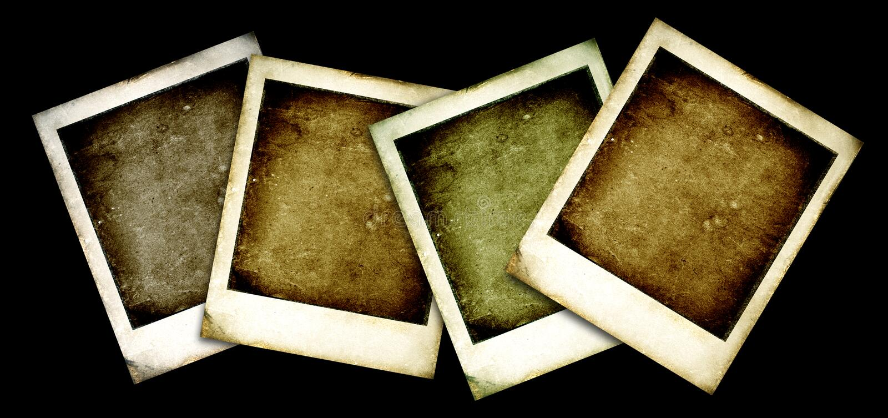 Download Vecchio Polaroid illustrazione di stock. Illustrazione di scheda - 3892234