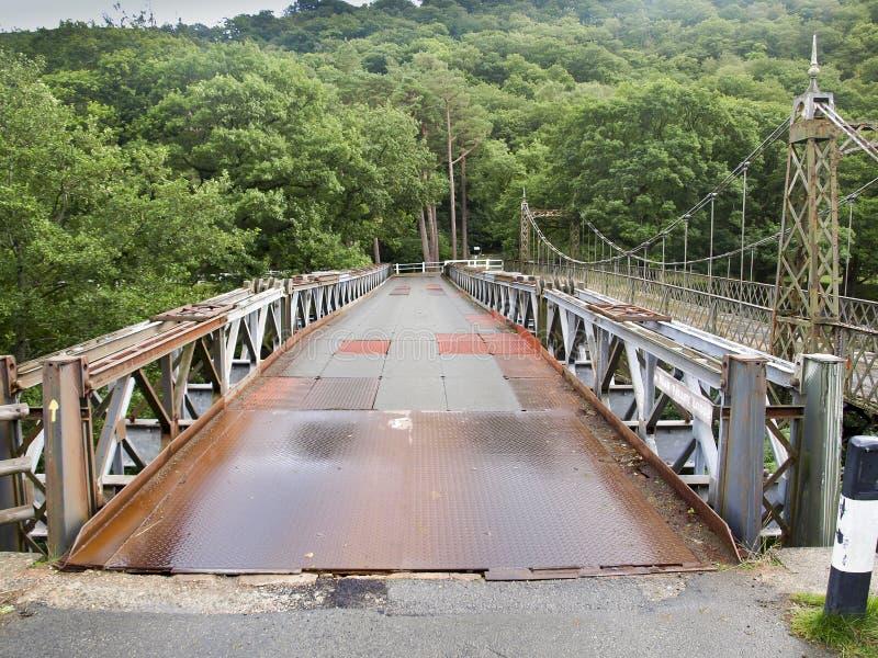 Vecchio ponte del ferro immagine stock