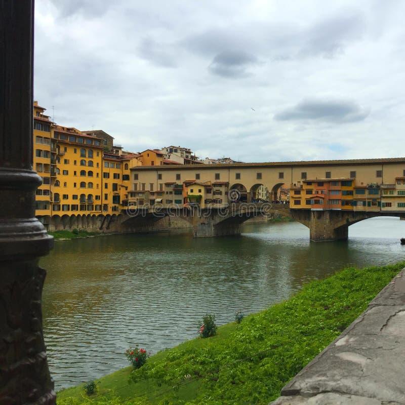 vecchio ponte florence стоковые изображения rf