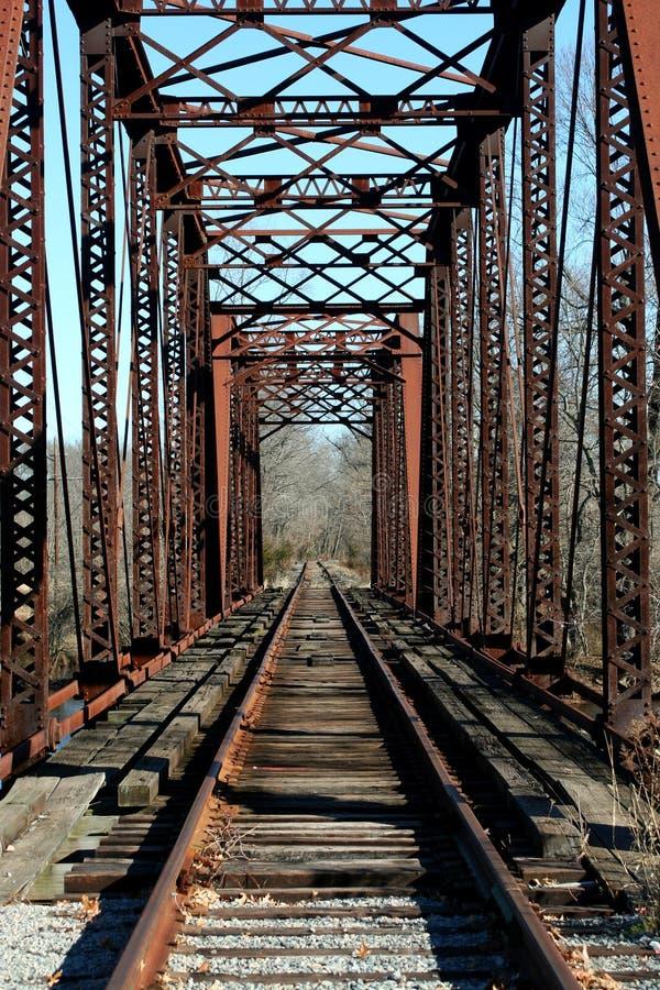 Vecchio ponticello della ferrovia immagine stock