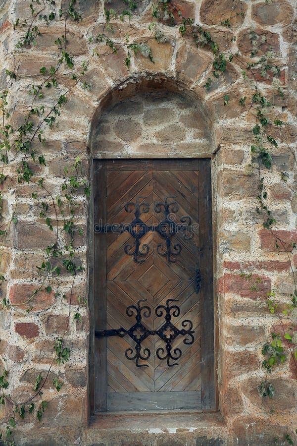 Vecchio portello gotico fotografie stock libere da diritti