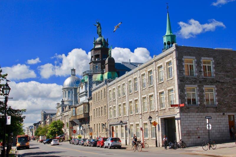 Vecchio porto di Montreal, Canada fotografia stock
