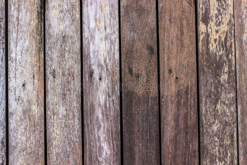 Vecchio primo piano di legno del fondo di struttura immagine stock