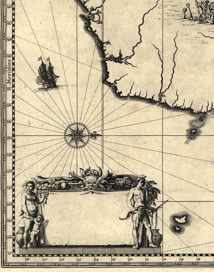 Vecchio programma illustrazione vettoriale