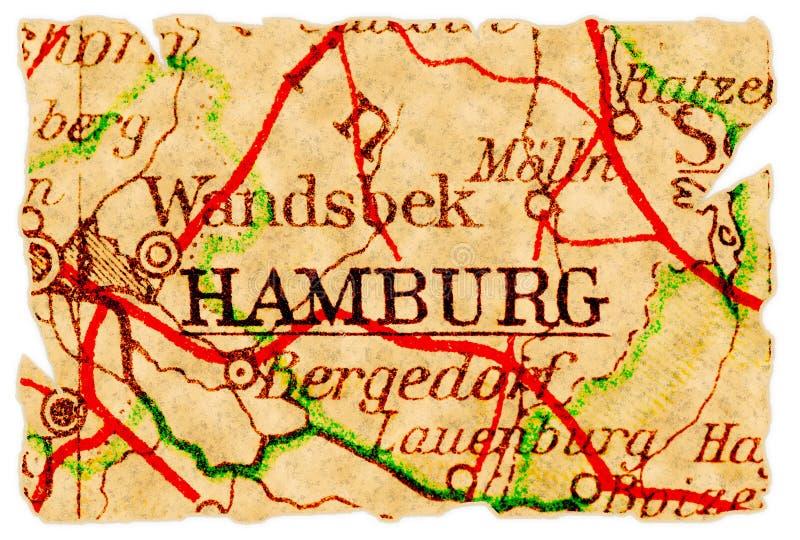 Vecchio programma di Amburgo fotografie stock libere da diritti