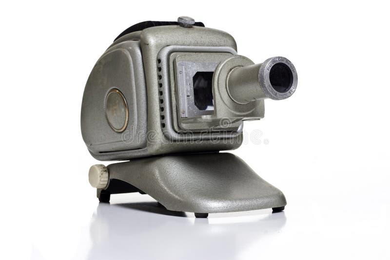 Vecchio proiettore di diapositive fotografia stock libera da diritti
