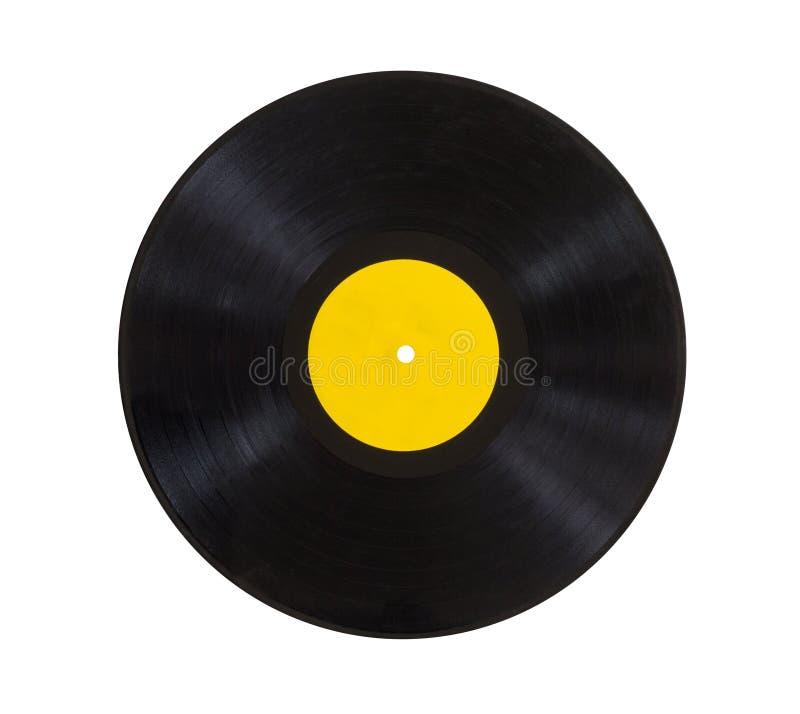 Vecchio record immagini stock
