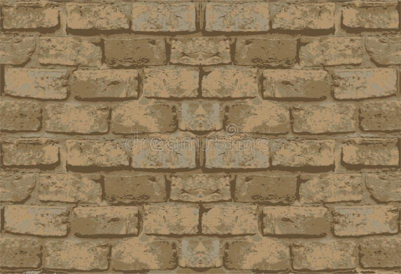 Vecchio reticolo del muro di mattoni fotografia stock libera da diritti