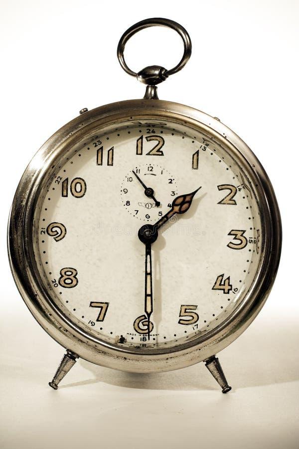 Vecchio retro orologio fotografia stock libera da diritti