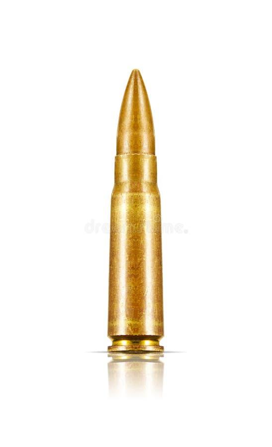 Vecchio richiamo isolato del fucile immagini stock libere da diritti