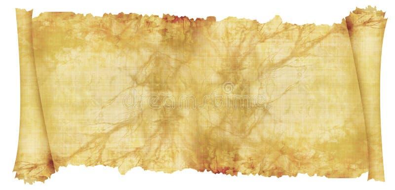 Vecchio rotolo illustrazione vettoriale