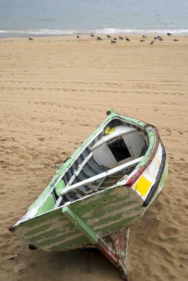 Vecchio rowboat fotografie stock libere da diritti