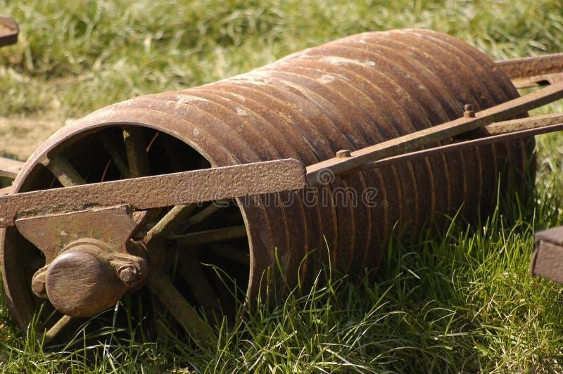 Vecchio rullo dell'azienda agricola immagini stock libere da diritti