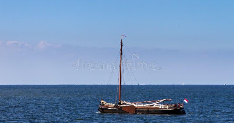 Vecchio sailer immagini stock