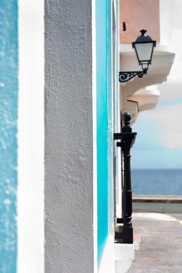Vecchio San Juan immagini stock libere da diritti