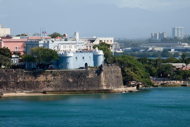 Vecchio San Juan, Porto Rico fotografie stock libere da diritti