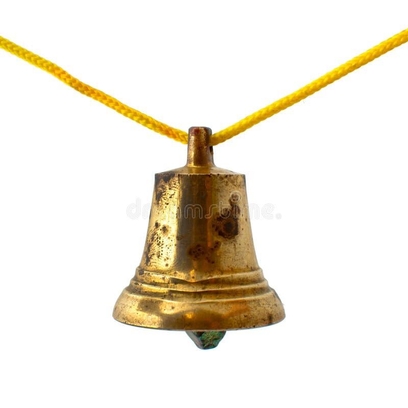 Vecchio segnalatore acustico bronze fotografia stock