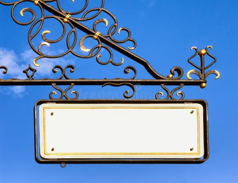 Vecchio segno della memoria immagine stock libera da diritti