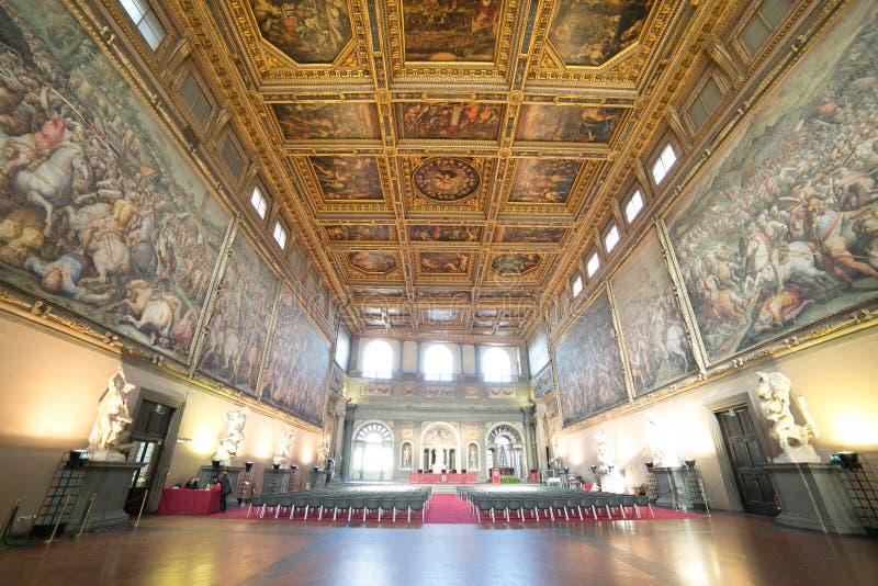 Vecchio slott, Florence-Italien arkivfoton
