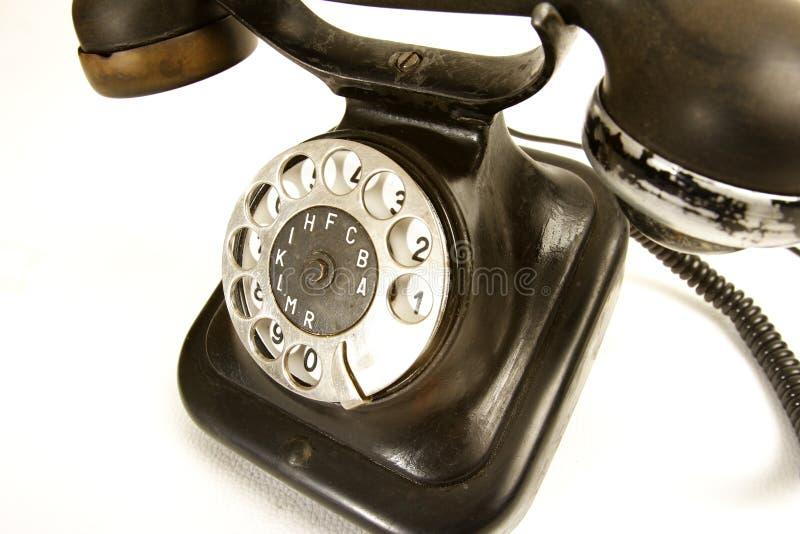 Vecchio telefono fotografia stock libera da diritti