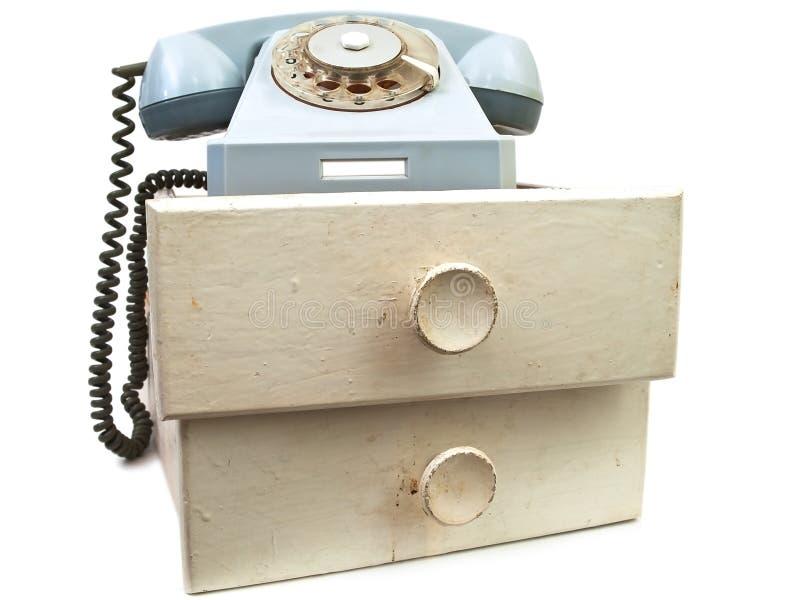 Download Vecchio Telefono Ai Cassetti Fotografia Stock - Immagine di cassetto, contatto: 7301134
