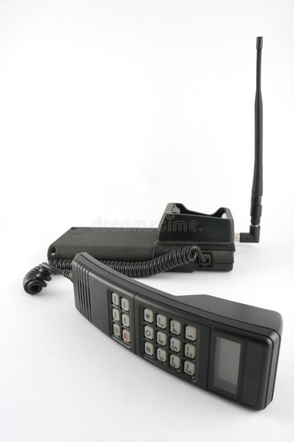 Vecchio telefono delle cellule fotografia stock