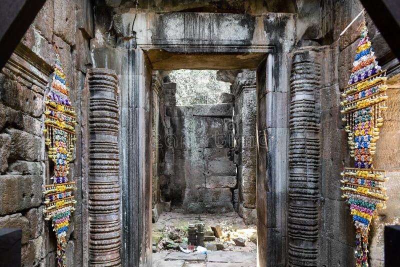 Vecchio tempio di Krol Ko delle pietre immagini stock libere da diritti