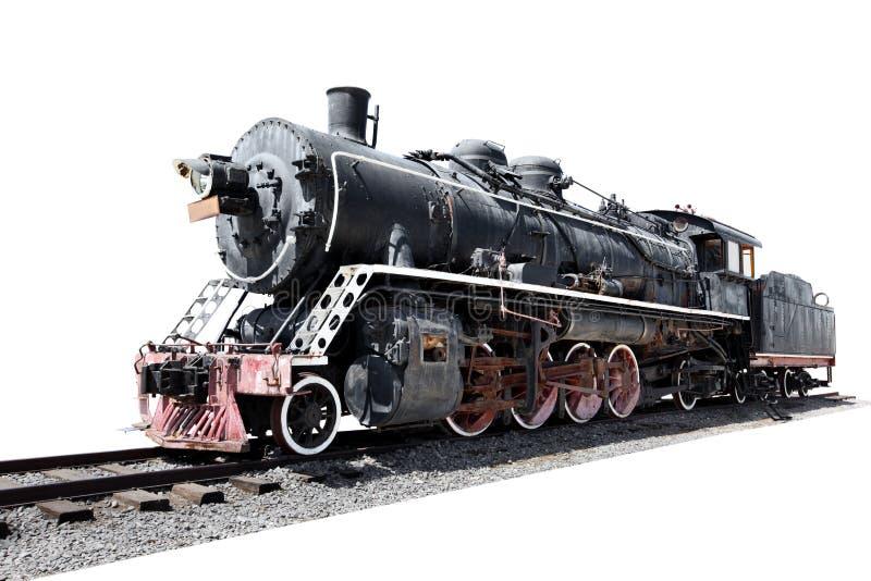 Vecchio treno fotografie stock libere da diritti