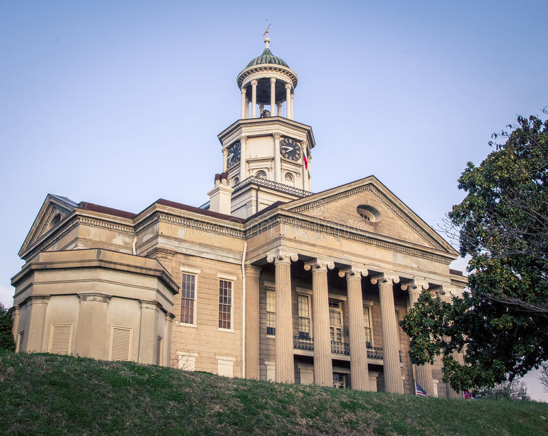 Vecchio tribunale di Vicksburg fotografie stock