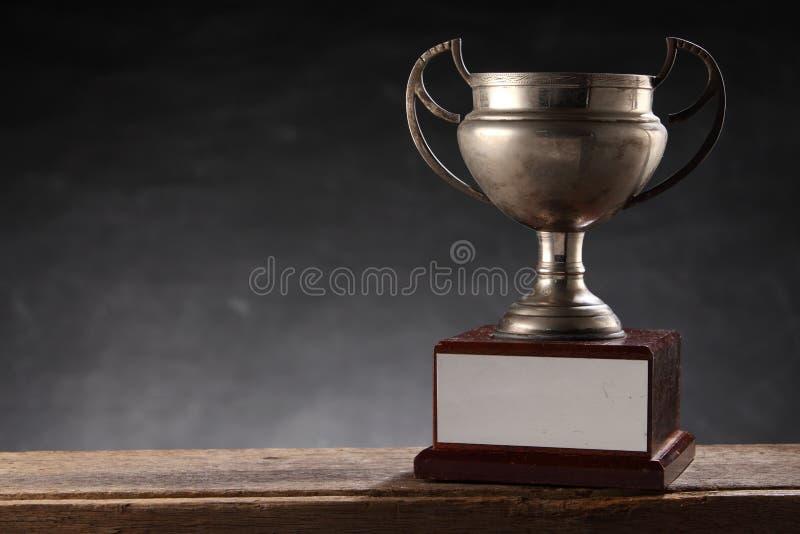 Vecchio trofeo immagini stock