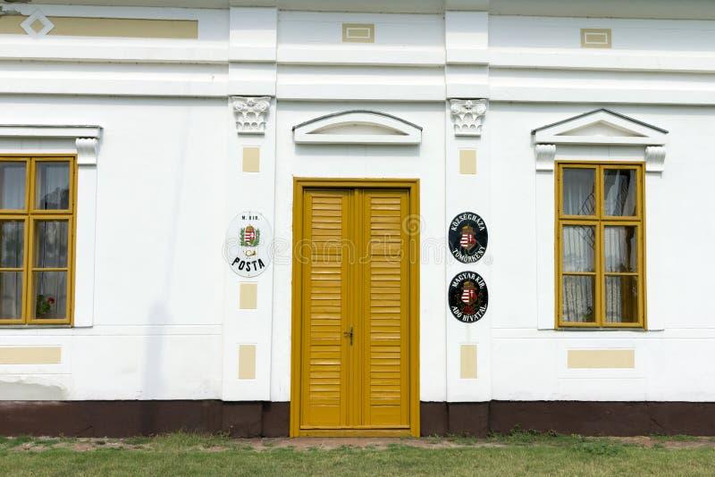Vecchio ufficio postale immagine stock libera da diritti