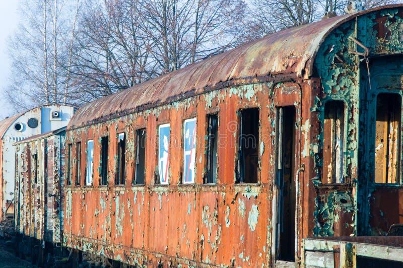 Vecchio vagone ferroviario