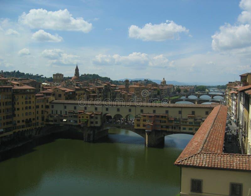 vecchio vasari της Φλωρεντίας Ιταλία διαδρόμων ponte στοκ εικόνες
