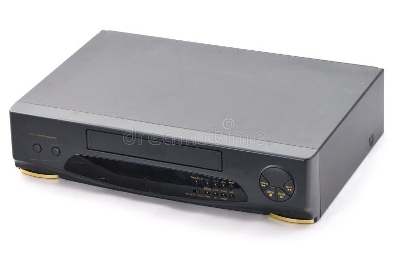 Vecchio VCR. fotografia stock