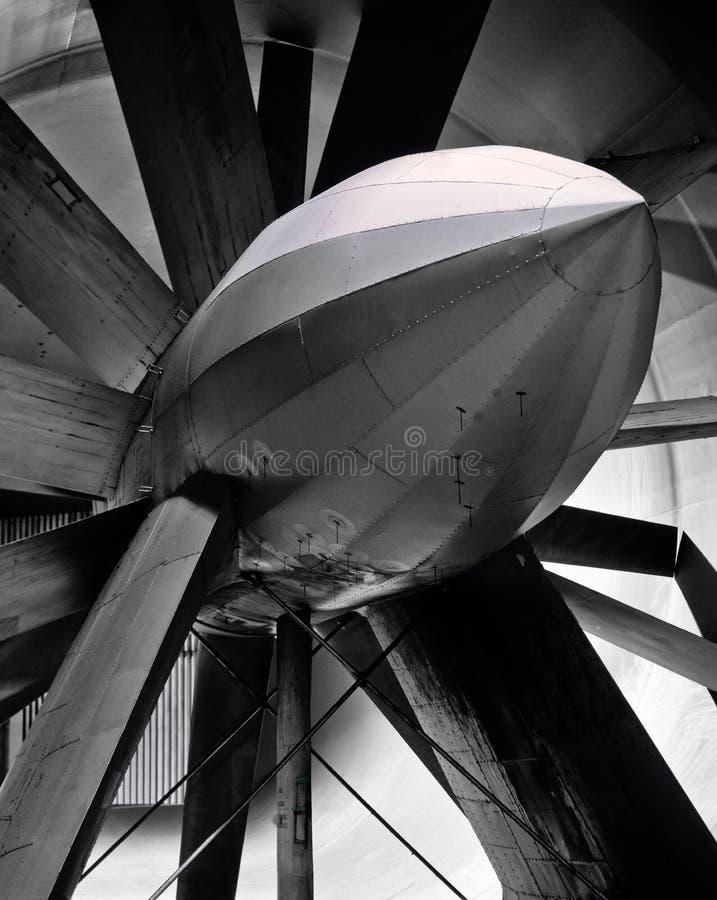 vecchio vento della turbina del traforo di ricerca fotografia stock libera da diritti