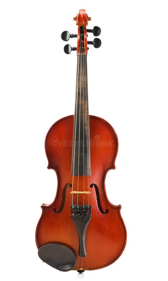 Vecchio violino impolverato immagine stock libera da diritti