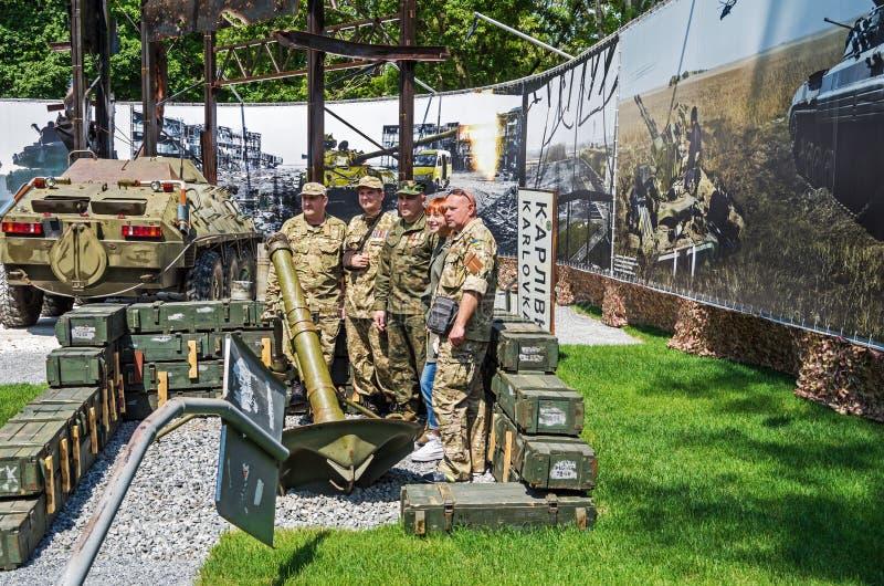 Vechtende veteranen royalty-vrije stock afbeelding