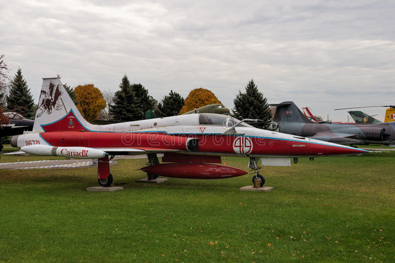 Vechter cf.-5/cf.-116 van de Canadairvrijheid stock fotografie