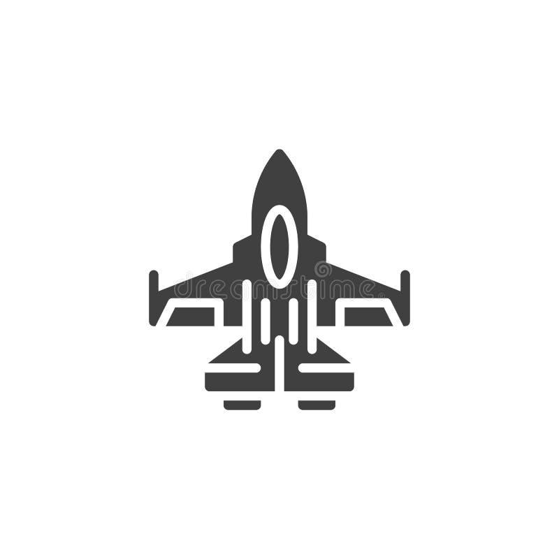 Vechters straal vectorpictogram stock illustratie