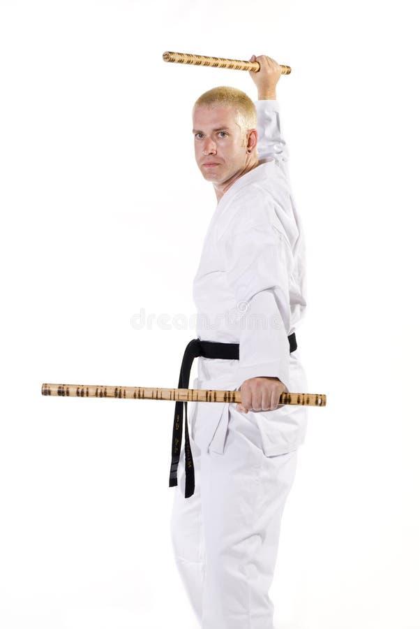 Vechtsporten royalty-vrije stock afbeeldingen