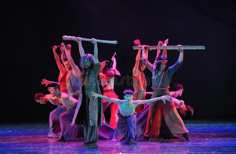 Vechtsporten het vesting-dansdrama de legende van de Condorhelden royalty-vrije stock foto
