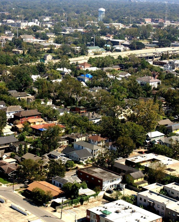 Vecindad de la ciudad. imagen de archivo libre de regalías