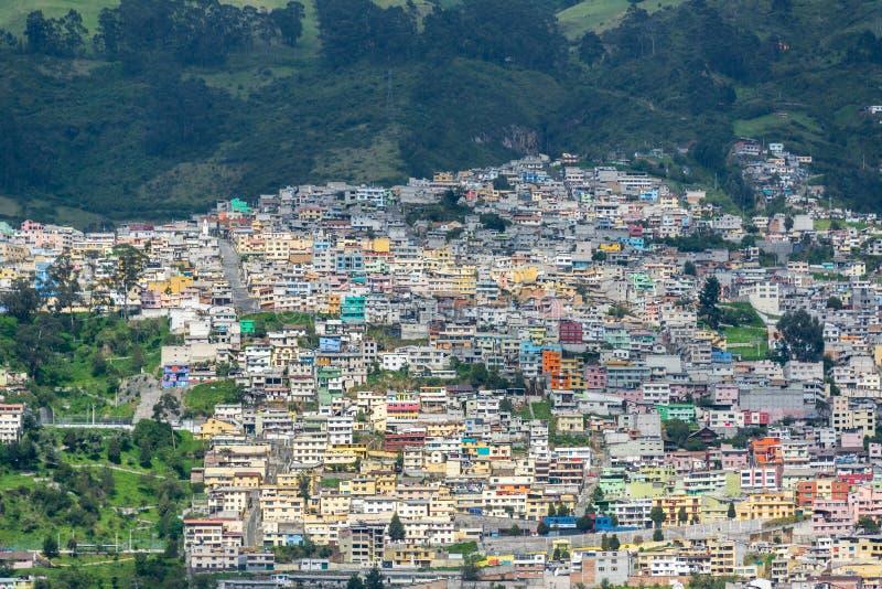 Vecindad de Quito, Ecuador fotografía de archivo