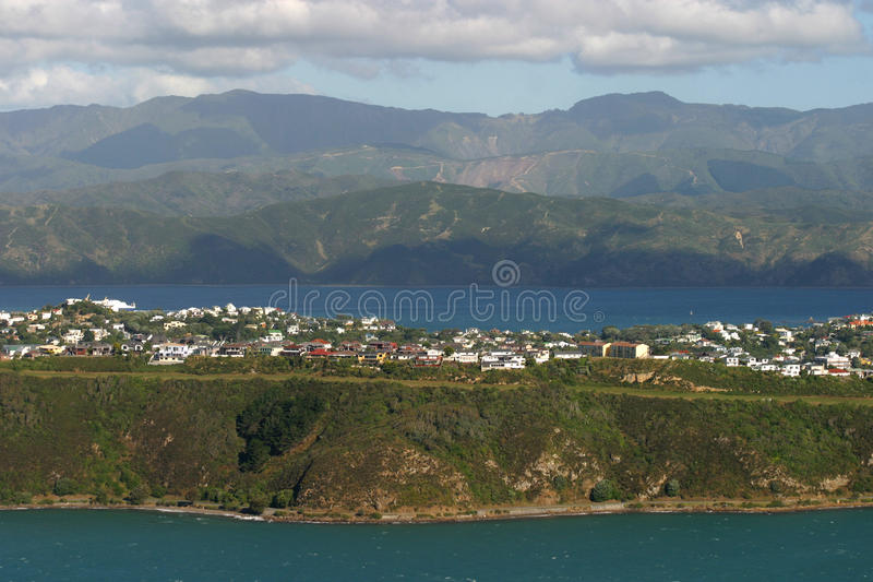 Vecindad de Wellington imagenes de archivo