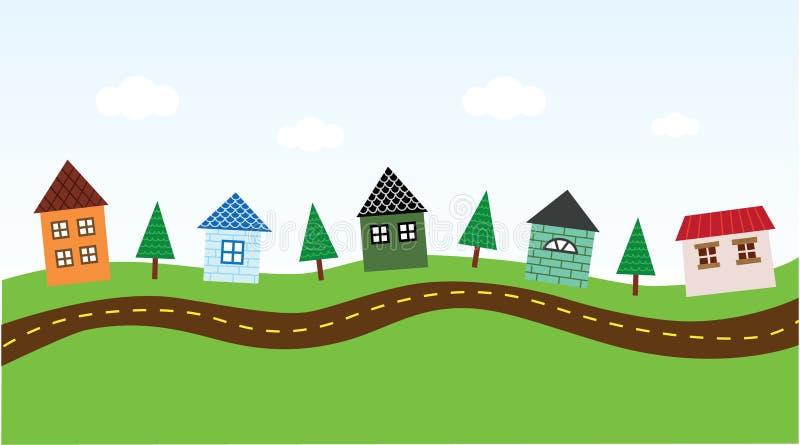 Vecindad encantadora libre illustration